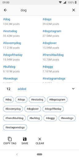 HashTags for Instagram 1.0.7.6 Screenshots 6