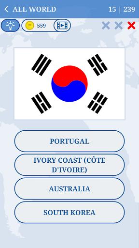 The Flags of the World u2013 World Flags Quiz Apkfinish screenshots 3