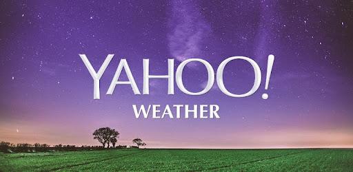Yahoo Weather App Widget