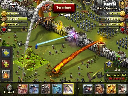 Throne Rush APK MOD – Pièces de Monnaie Illimitées (Astuce) screenshots hack proof 1