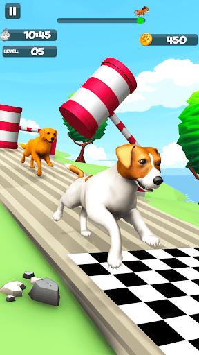 Dog Run - Fun Race 3D apkpoly screenshots 4