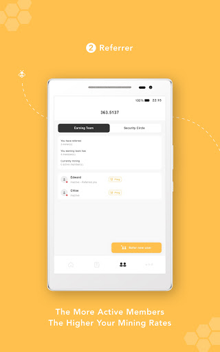 Bee Network:Phone-based Digital Currency 1.2.0 screenshots 7