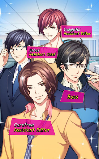 Code Triche Office love story - Otome game (Astuce) APK MOD screenshots 3