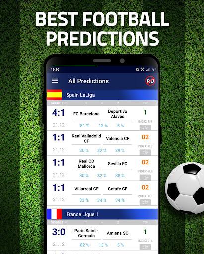 Football Predictions : Free Betting Tips All Today 3.1 Screenshots 1