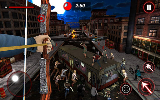 Archer Hunting Zombie City Last Battle 3D modavailable screenshots 8