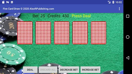 Five Card Draw Poker  screenshots 6