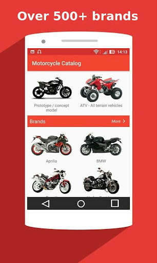 Motorcycle Catalog -  All Moto Information App 2.5 Screenshots 3