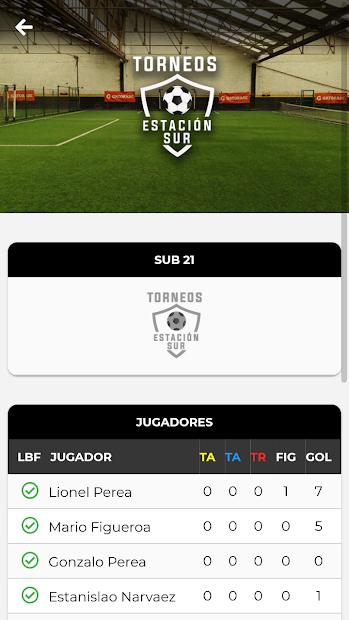 TORNEOS ESTACIÓN SUR screenshot 1