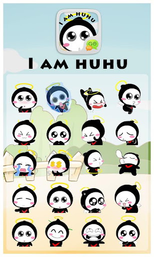 GO SMS HULA ANIMATED STICKER For PC Windows (7, 8, 10, 10X) & Mac Computer Image Number- 6