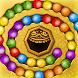 大理石 [Woka Woka]*: バブルシューターのマッチングパズル