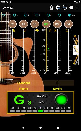 GuitarTuner - Tuner for Guitar apktram screenshots 9