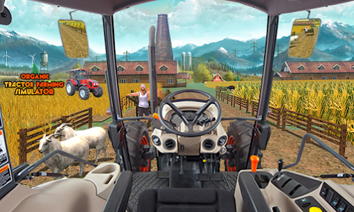 Canada' s Mega Organic Tractor Farming SIM 2019 Apk Download 2