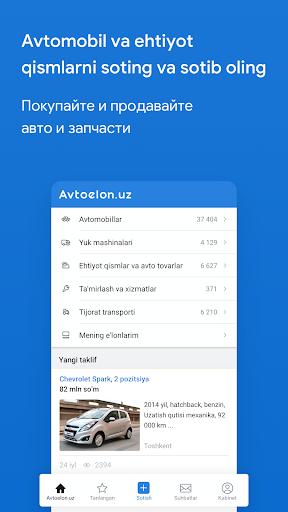 Avtoelon.uz 1.4.9 Screenshots 1