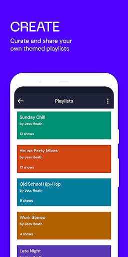 Mixcloud - Radio & DJ mixes android2mod screenshots 3
