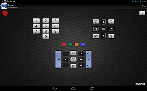 Remote for Samsung TV for PC 5