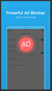 Ume Browser - Fast & Private & Ad Blocker Screenshot