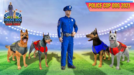 Police Dog Football Stadium Crime Chase Game  screenshots 9