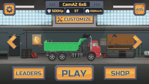 Truck Racing - Offroad hill climbing 1.9.3 screenshots 5