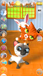 Talking 3 Friends Cats & Bunny 20201103 Mod APK with Data 2
