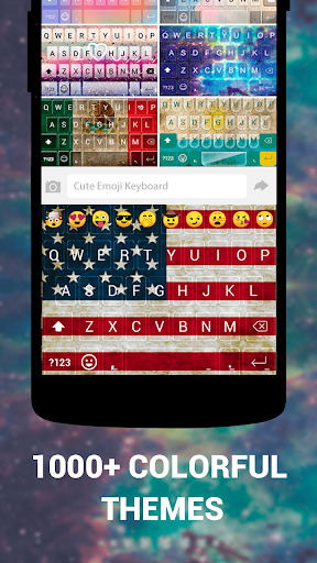 Emoji Keyboard Cute Emoticons - Theme, GIF, Emoji 1.8.5.0 screenshots 3