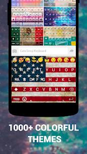 Emoji Keyboard Cute Emoticons – Theme, GIF, Emoji 1.8.5.0 Apk 3