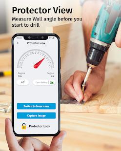 Bubble Level Meter - Ruler & Digital Compass