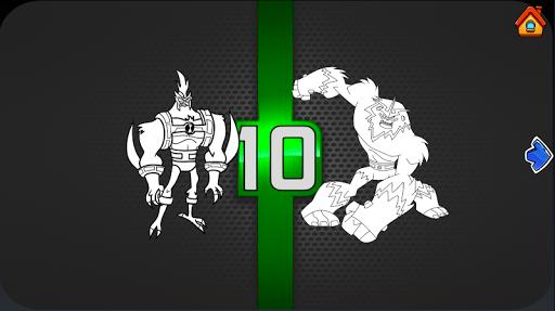 Ben Coloring 10 Ultimate Heros 1.07 Screenshots 2