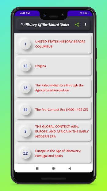 History Of United States: USA History screenshot 1