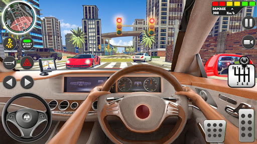City Driving School Simulator: 3D Car Parking 2019 apkpoly screenshots 2