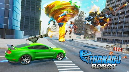 Tornado Robot games-Hurricane Robot Transform Wars 2