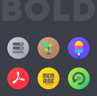 BOLD - ICON PACK Screenshot