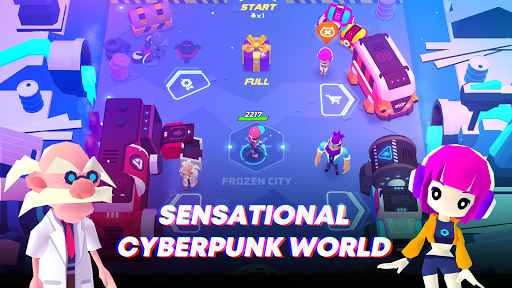 Super Clone: cyberpunk roguelike action 5.4 screenshots 3