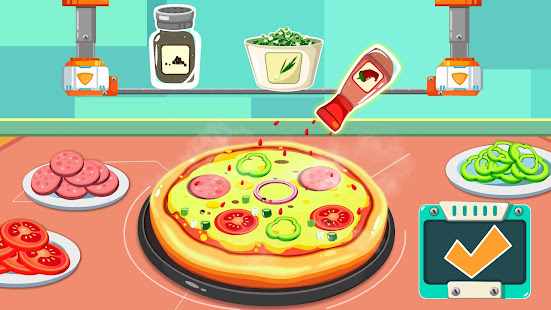 Little Pandau2019s Space Kitchen - Kids Cooking 8.57.00.02 Screenshots 4