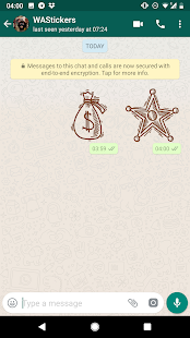 Western Cowboy Emoji Stickers for Whatsapp Screenshot