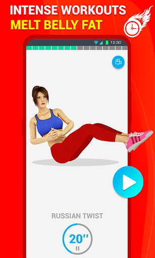 Six Pack Abs Workout 30 Day Fitness: Home Workouts 39.0 Paidproapk.com 3