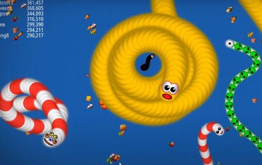 Snake Zone.io : Big Worm io 3.3.0.0 screenshots 1