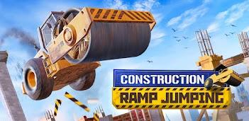 Jouez à Construction Ramp Jumping sur PC, le tour est joué, pas à pas!