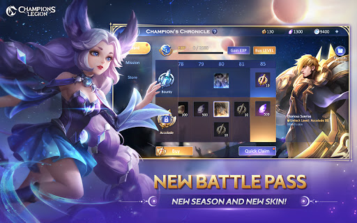 CL:Champions Legion | 5v5 MOBA 1.22.0 screenshots 18