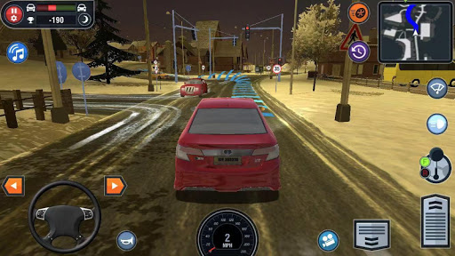 🚓🚦Car Driving School Simulator 🚕🚸 apklade screenshots 1