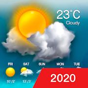 Weather updates&temperature report  Icon