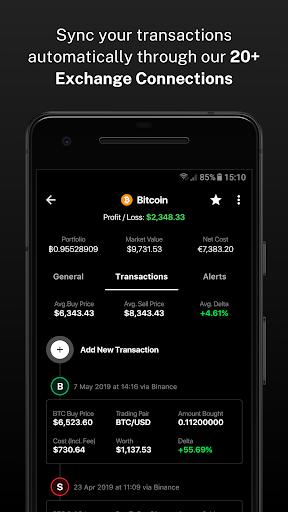 Delta - Bitcoin & Cryptocurrency Portfolio Tracker screenshots 7