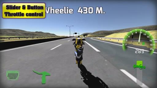 Motorbike  Online Drag Racing - Wheelie racing 3D screenshots 24