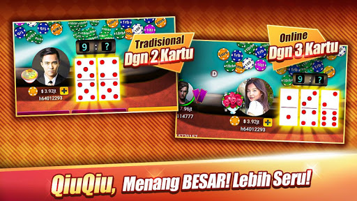 Domino : LUXY Domino & Poker - Gaple QiuQiu Remi 5.2.1.0 screenshots 2