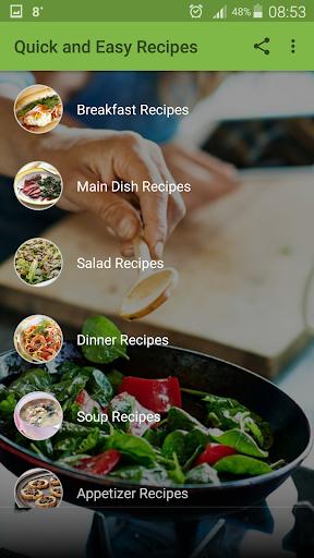 Foto do Quick and Easy Recipes
