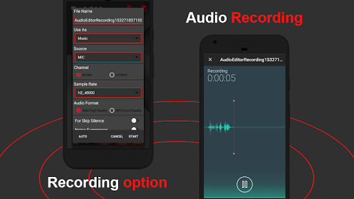 AudioLab ud83cudfb5 Audio Editor Recorder & Ringtone Maker 1.1.6 Screenshots 3