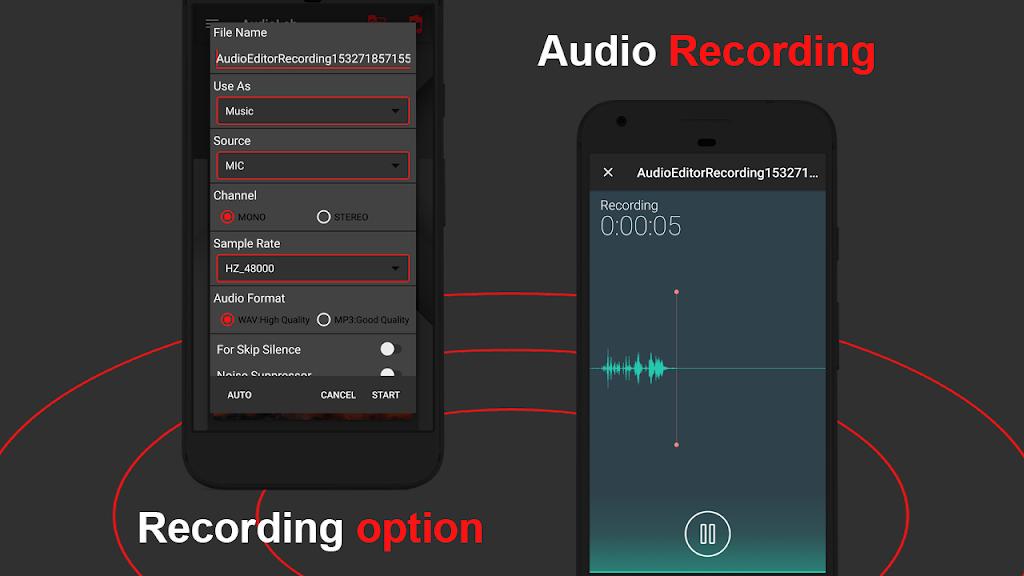 AudioLab 🎵 Audio Editor Recorder & Ringtone Maker  poster 2
