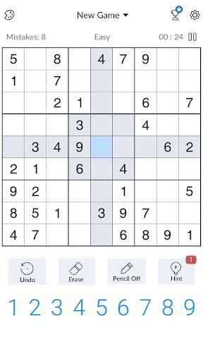 Sudoku - Free Classic Sudoku Puzzles 3.9.0 screenshots 2
