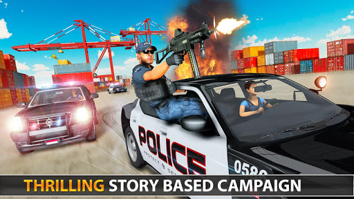 Police Counter Terrorist Shooting - FPS Strike War 6 screenshots 13