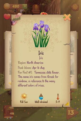 Flower Book: Match-3 Puzzle Game 1.149 screenshots 5