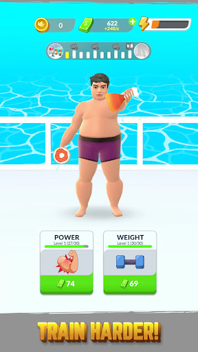 Gym Life 3D! - Idle Workout Simulator Game  updownapk 1